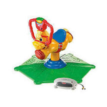 Fisher-Price Laugh & Learn Smart Bounce and Spin Pony - $150.00