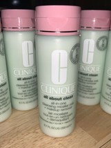 CLINIQUE All About Clean All-in-One Cleansing Micellar Milk + Makeup Rem... - $19.79