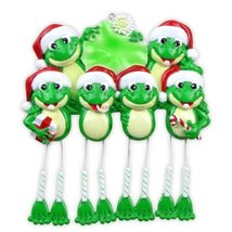 Frog Dangle Legs (6) Personalized Christmas Ornament [Kitchen] - £10.65 GBP