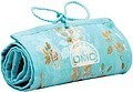 Blue Floral StitchBow Roll floss organizer 26x8 unrolled DMC