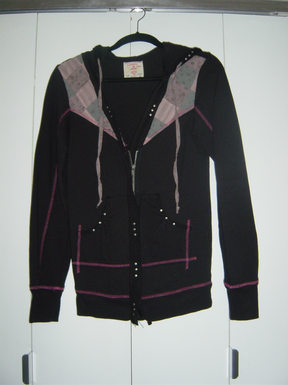 Primary image for Intimately Free People Solid Studded Hoodie EUC (Size: Medium)