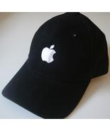 Apple logo Hat embroidered adjustable black cap... - $16.85