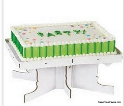 CAKE STAND RENTAGLE Wilton Decoration Display  Pedestal Cupcake Birthday... - $14.80