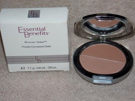 Essential Benefits Dermablend NATURAL NUDE Bronzer Soleil Compact .39 oz/11g New - $21.78