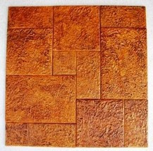 4 Size Opus Romano Pattern Tile Molds Make 100s of Slip Resistant Tiles $0.28 SF image 8