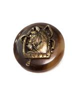 "Org Ralph Lauren metal & plastic Horse Replacement pocket sleeve button .60"" - $4.90"