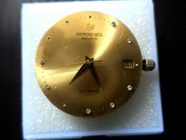SWISS  2892-2 ETA  21 JEWEL RAYMOND WEIL 29mm DIAL WITH HANDS, STEM, CROWN. - $74.25