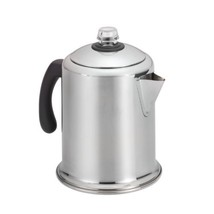 Farberware 50124 Classic Stainless Steel Yosemite 8-Cup Coffee Stovetop ... - $31.34