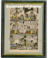 > Fritz the Cat by Robert Crumb, plate book print 1972, hand colored,1 o... - $19.60