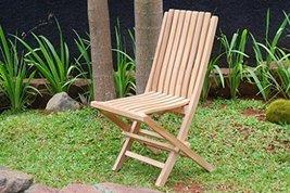 Premium Grade A Teak Java Folding Chair, Packed 2 per box LIST $500 ea - $650.00