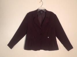 Womens Element Z Size XL Poly Spandex Bark Brown Casual Dress Blazer Jacket - $30.68