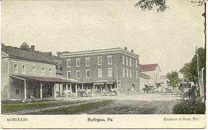 Primary image for The General Store Burlington Pennsylvania Vintage Post Card