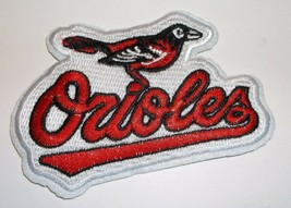 """Baltimore Orioles Embroidered PATCH~3 3/4"""" x 2 3/4""""~Iron Sew On~MLB~Ship... - $3.95"""