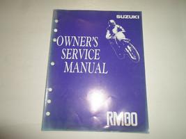 1992 Suzuki RM80 Owners Service Manual Minor Water Damage Factory Oem - $24.70