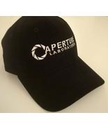 Aperture logo Hat black adjustable Cap portal L... - $17.85