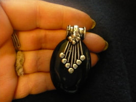 HAUNTED MALE VAMPIRE BLUE STONED PENDENT SEEKS ONE TRUE KEEPER  w/charge... - $125.00
