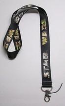 Star Wars Photo Lettering Neck Lanyard Key Chain Ring Keychain Id Holder New - $9.99