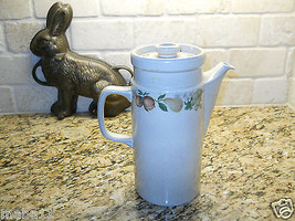 "Wedgwood Quince 6 CUP Coffee pot Fruit 9 1/8"" - $24.74"