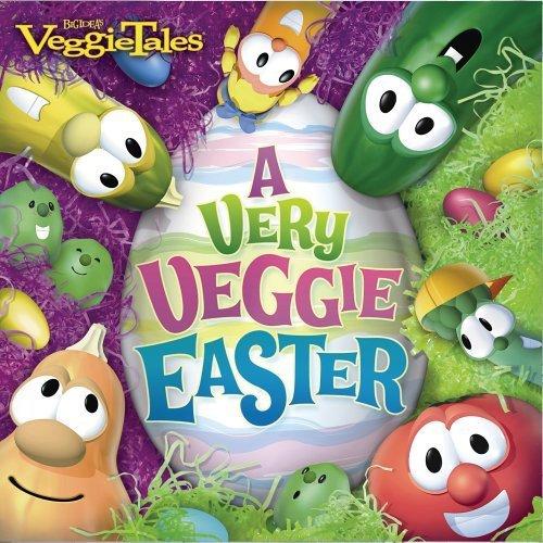 A very veggie easter   cd   by veggie tales
