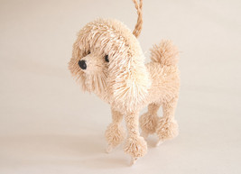 Pottery Barn bottlebrush poodle dog ornament - $114.99