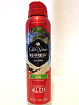 New Old Spice Fresher Collection Refresh Body Spray Fiji With Palm Tree ... - $4.00