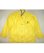 Rare 1990 Chevron Mapp Team Neese Sz M Yellow Protective Rain Parka Jack... - $23.33