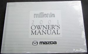 Primary image for 2000 MAZDA MILLENIA OWNERS MANUAL PART SERVICE BOOK