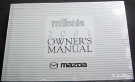 2000 MAZDA MILLENIA OWNERS MANUAL PART SERVICE BOOK - $9.99