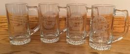 Coca Cola Coke Commemorative Presidents Club 1998   Set Of 4 Glass Mugs   Htf - $9.94