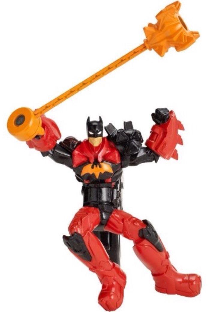 "Batman Deluxe Combat Staff Batman 6"" Figure NEW Pull Trigger For Fighting Action"