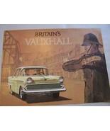 1960 Vauxhall  Owners Sales Brochure 1961 1962 - $29.99