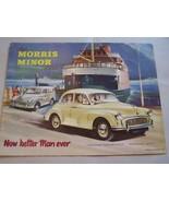 1959  MORRIS  OWNERS  SALES BROCHURE CONVERTIBLE 1960 - $19.99