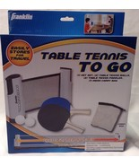 Franklin Sports Table Tennis To Go - NEW - great gift item - $21.94
