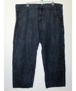 Mens Rocawear Black Jeans Original Fit 52 - $27.97
