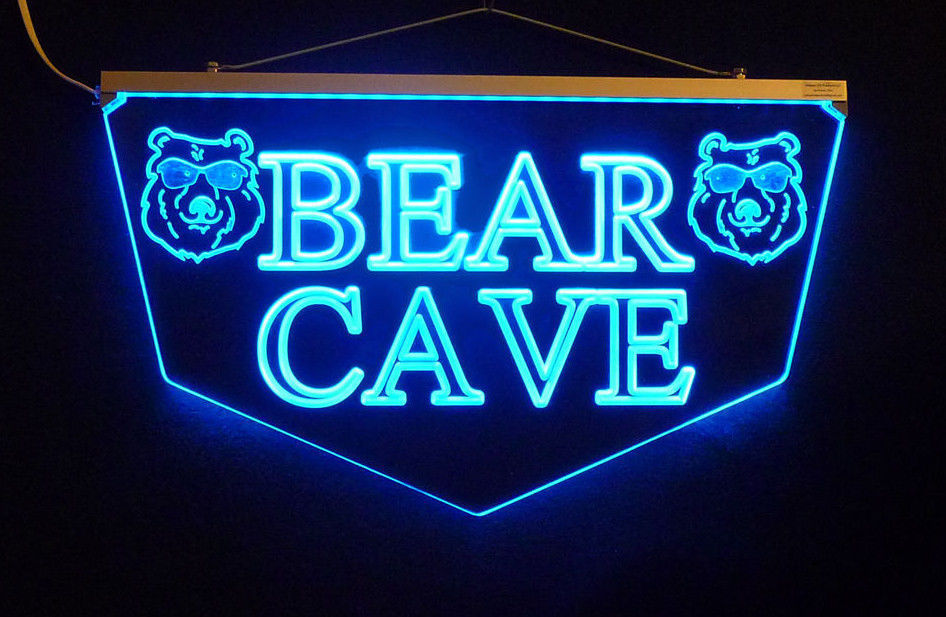 Personalized Custom LED Sign Man Cave Sign, Pub Sign, Bar Sign-Gift