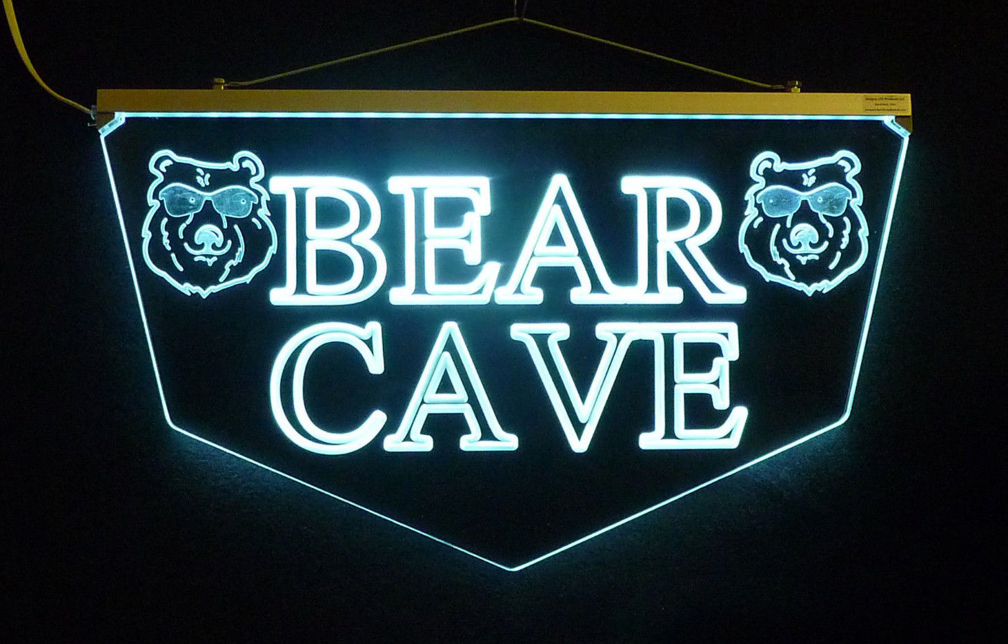 Personalized Custom LED Sign Man Cave Sign, Pub Sign, Bar Sign-Gift image 2