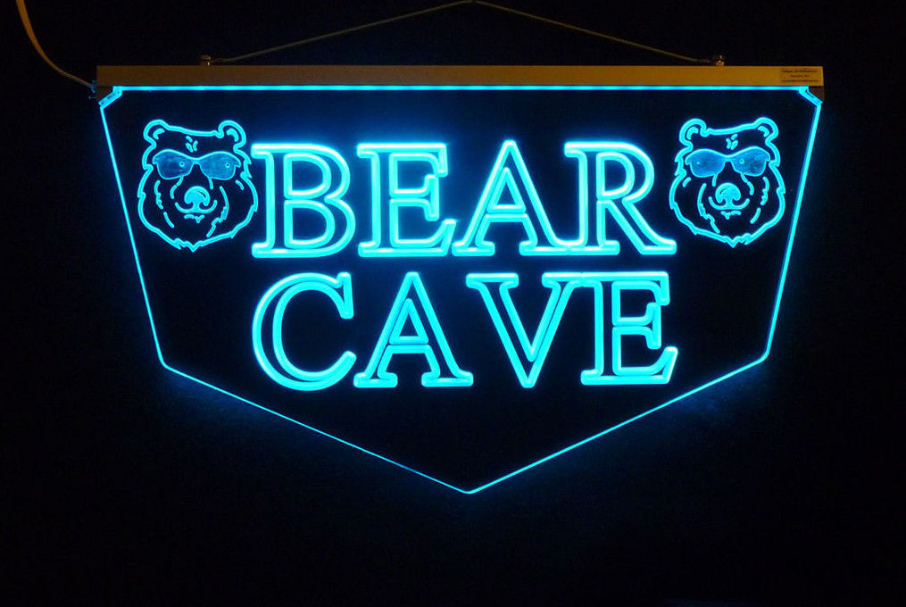 Personalized Custom LED Sign Man Cave Sign, Pub Sign, Bar Sign-Gift image 4