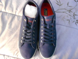 Ralph Lauren POLO Navy Sport Suede Sneakers(Harvey)   Size: 11.5D  New in box - $108.56 CAD