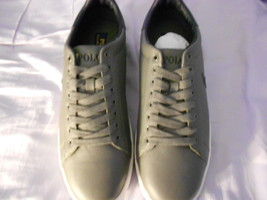 Ralph Lauren POLO Grey Leather Sneakers (Whickham)   Size: 11.5D  New in box - $135.70 CAD