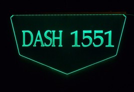 Personalized Custom Lighted Street Address LED Window Sign - $140.00