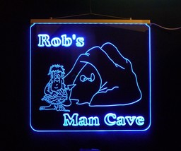 Personalized Man Cave, Garage, Bar, LED Custom Sign - $155.00