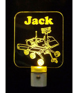 Personalized Mars Rover Nasa LED Night Light - kids lamp, spaceship, space - $23.50