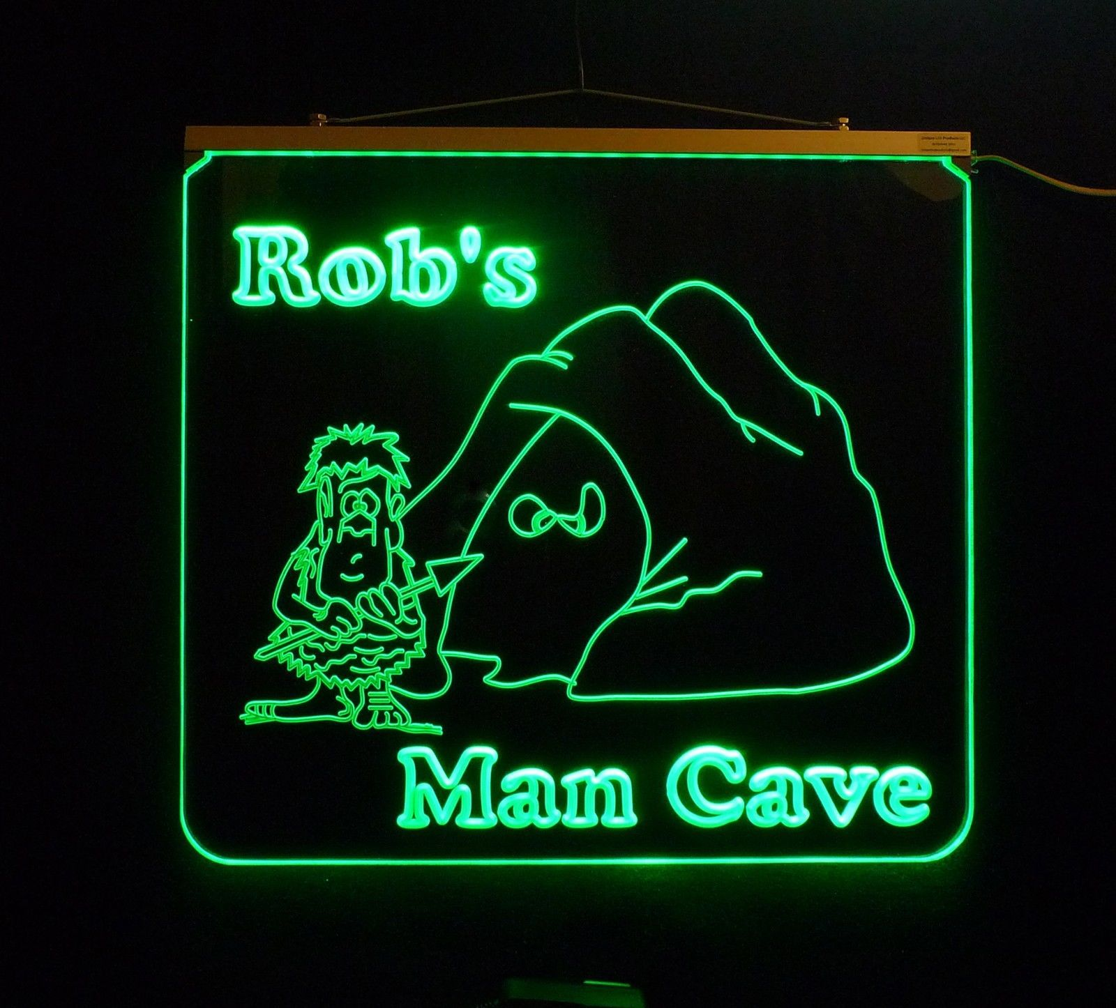 Personalized Man Cave, Garage, Bar, LED Custom Sign image 3