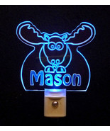 Personalized Moose Elk LED Night Light *Or Design your own Light, Animal... - $23.50
