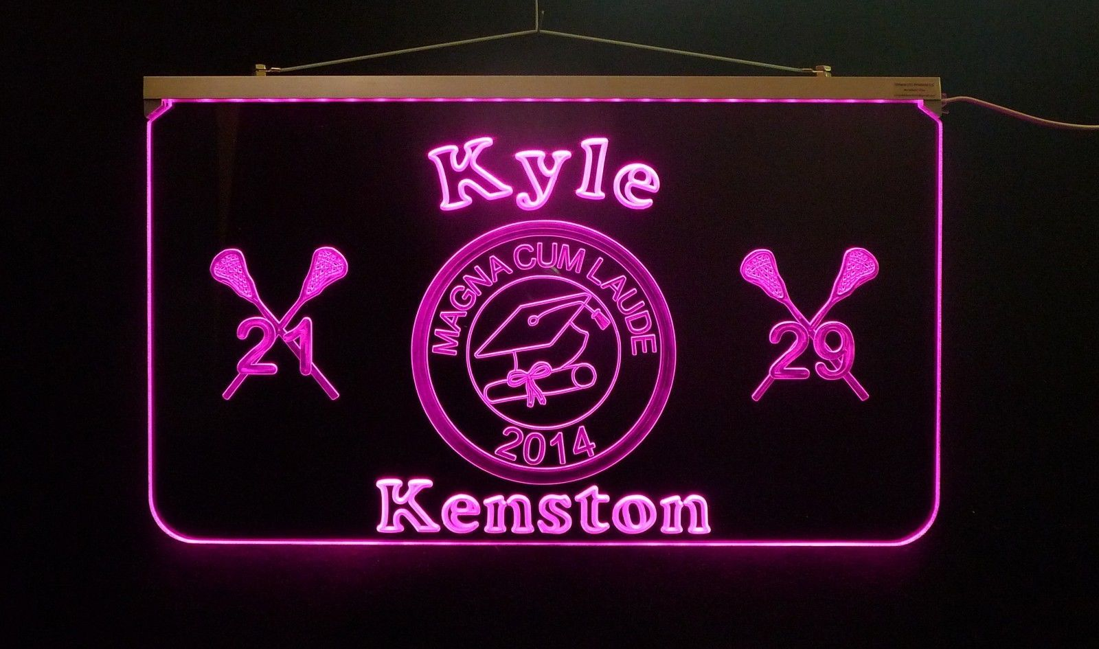 Graduation LED Sign, Personalized Graduation Gift, Decor, Graduation Party