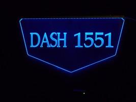 Personalized Custom Lighted Street Address LED Window Sign image 3