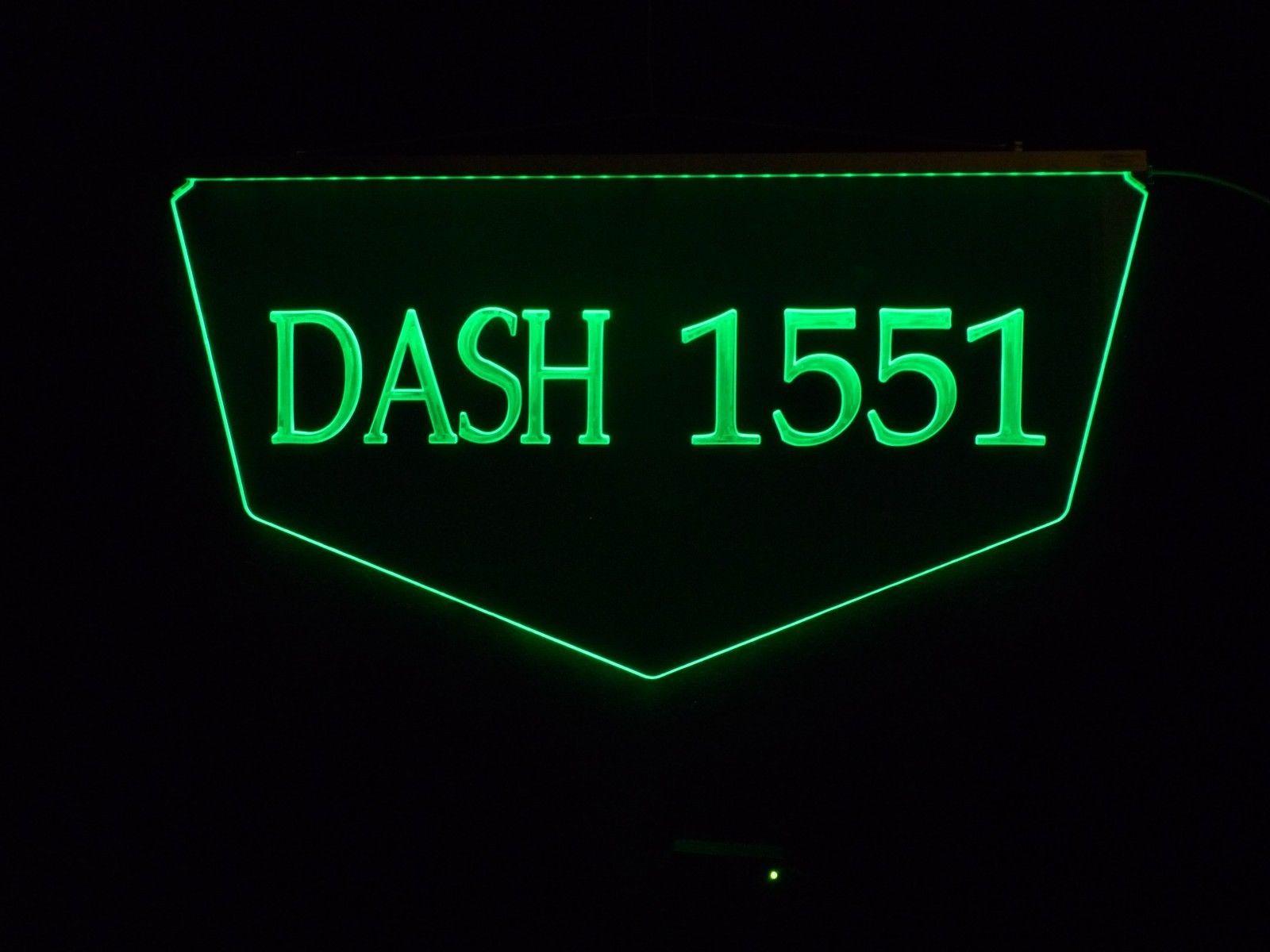 Personalized Custom Lighted Street Address LED Window Sign image 4