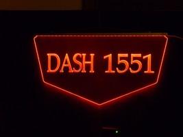 Personalized Custom Lighted Street Address LED Window Sign image 5