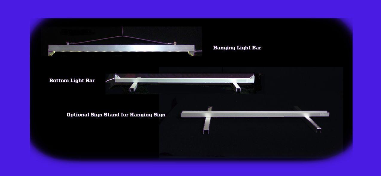 Personalized Custom Lighted Street Address LED Window Sign image 8