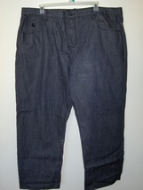 Mens Rocawear Black Jeans Size 50 X 32 Length 64-866  - $27.97